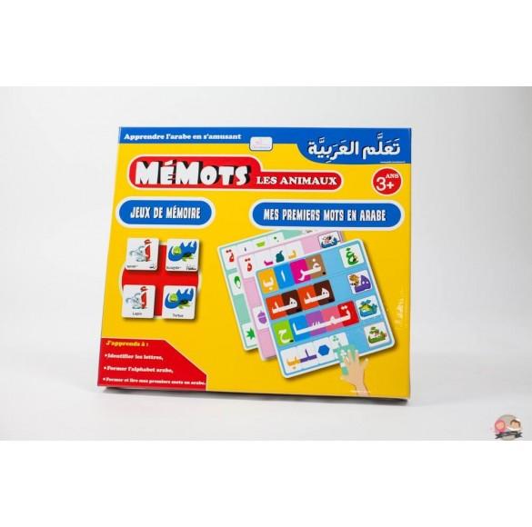 Jeux mémots - Apprendre l'arabe en s'amusant